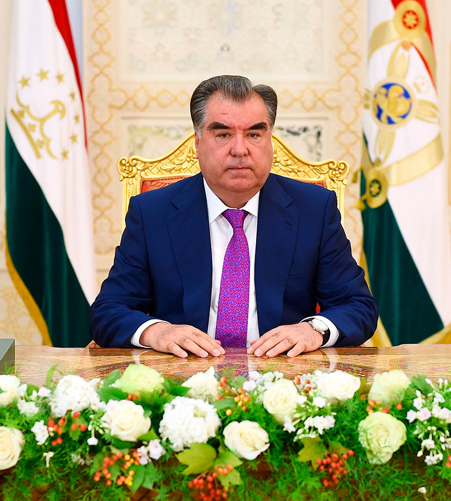 Address by the President of the Republic of Tajikistan to the Parliament of the Republic of Tajikistan, 20